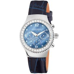 Akribos XXIV Women's Austrian Crystal Multifunction Quartz Watch.