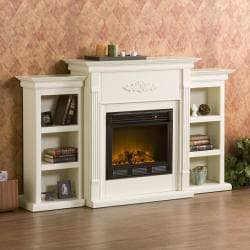 Dublin Ivory Electric Fireplace