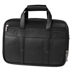 Boston Traveler Jourdan Leather Expandable Computer Briefcase