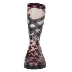 Burberry Mid-calf Check and Stars Rain Boots