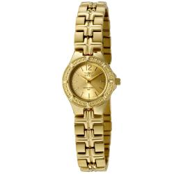 Invicta Women's Wildflower Gold Dial 18k Goldplated Watch