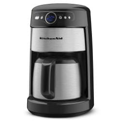 KitchenAid KCM223OB Onyx Black 12-cup Thermal Carafe Coffee Maker