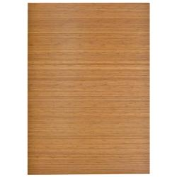 Eco Bamboo Standard Rectangular Natural Chair Mat (72 x 48)