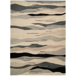 Nourison Hand-tufted Contempo Grey Rug (8' x 11')