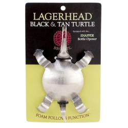 Black and Tan Turtle Lagerhead
