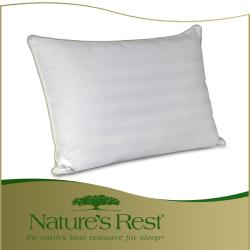 Nature's Rest All-natural Latex Spring/ Eco Fiber-filled Pillow