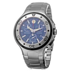 Movado Men's 'Series 800' Stainless Steel Chronograph Quartz Watch