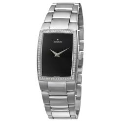 Movado Women's 'Eliro' Stainless Steel Quartz Diamond Watch