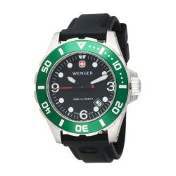 Wenger Men&#39;s Green &#39;Aquagraph 1000m&#39; Watch