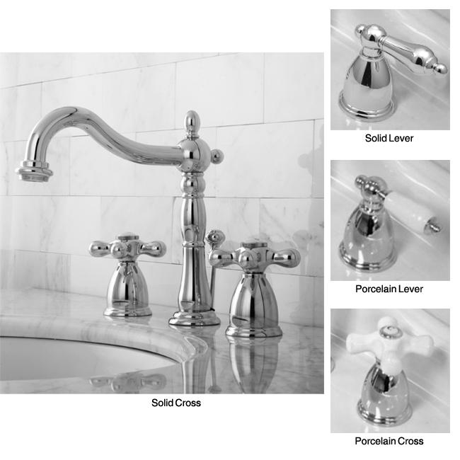 Vintage Widespread Bathroom Faucet