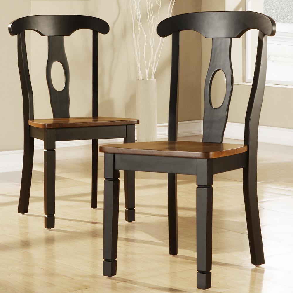 Rwanda Napoleon Black Cherry Side Chairs Set Of 2 13266238 Shopping Great