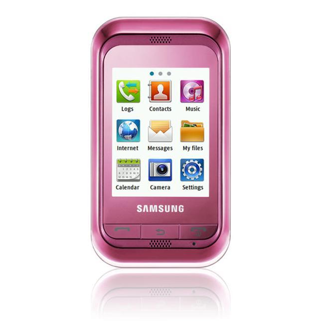 Samsung C3303 Champ Pink GSM Unlocked Cell Phone