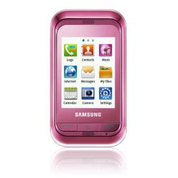 Samsung C3303 Champ Pink GSM Unlocked Cell Phone