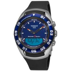 Tissot Men's 'Sailing-Touch' Blue Face Multifunction Watch