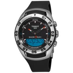 Tissot Men's 'Sailing-Touch' Rubber Strap Multifunction Watch