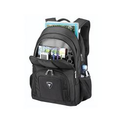 Sumdex PON-377BK Full Speed Flame Black 17.3-inch Laptop Backpack