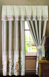 Lush Decor 84-inch Bloom Curtain Panel