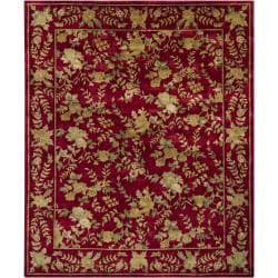 Hand-knotted Mandara New Zealand Wool Rug (8' x 10')