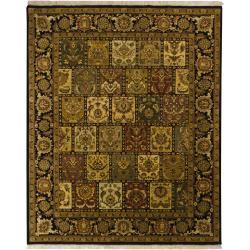 Hand-knotted Mandara New Zealand Wool Rug (8' x 10')
