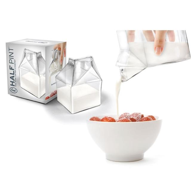 Fred & Friends Glass Half-pint Creamer