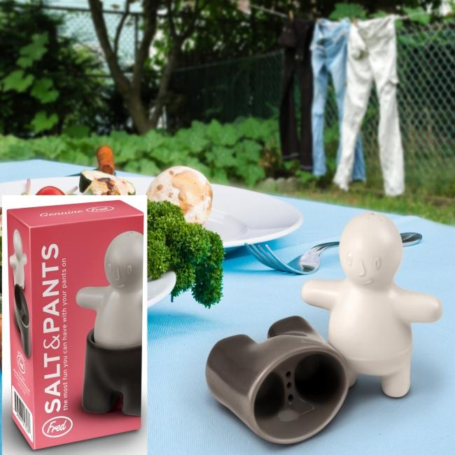 Fred & Friends Salt and Pepper Pants for the Best Dressed Table