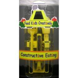 Constructive Eating Children's Yellow Utensil Set