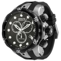 Invicta Men's Reserve 5732 Black Rubber Swiss Chronograph Watch