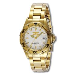Invicta Men's Pro Diver 23k Goldplated Watch