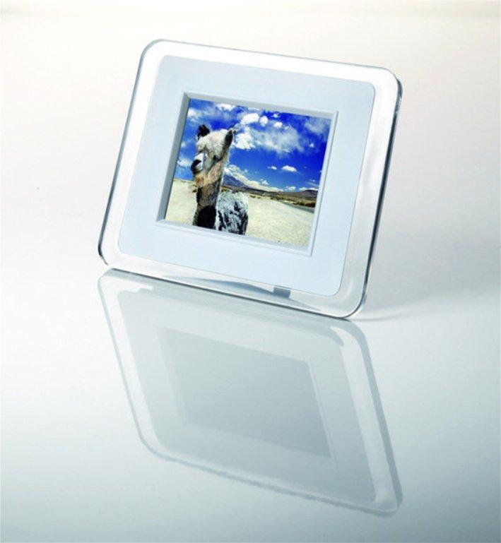Rokinon DPF035WHT 3.5-inch LCD Digital Picture Frame