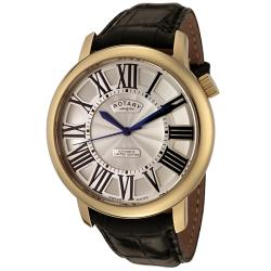 Rotary Men's Silver Guilloche Dial Automatic Watch