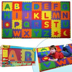 Build and Play 56-piece Alphabet Floor Mat (7' x 4')
