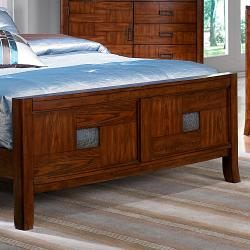 Sierra Cherry Queen-size Bed