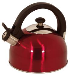 Magefesa Sabal Red Stainless Steel 2.1-quart Tea Kettle