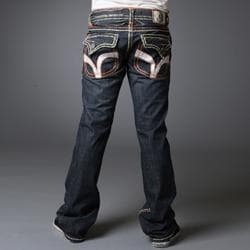 Laguna Beach Jean Company Men's 'Seal Beach' Embroidered Denim