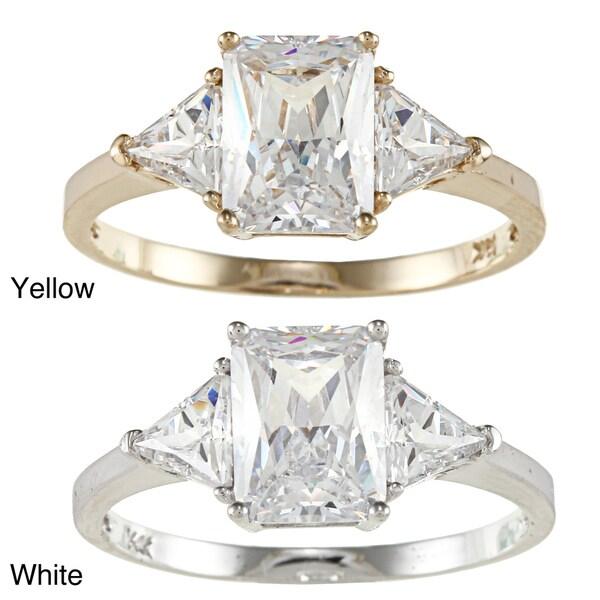 product gold stone wedding band ring