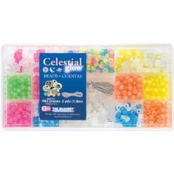 Bead Box Celestial Glow Kit (Package of 982 pieces)