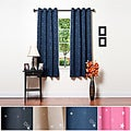 Star Struck Grommet Top 63-inch Thermal Insulated Blackout Curtain Set