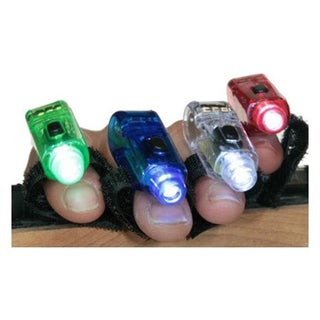 40 Super Bright Finger Flashlights LED Finger Lamps