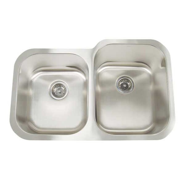 Artisan Premium Undermount Shallow/ Deep Double Bowl Kitchen Sink