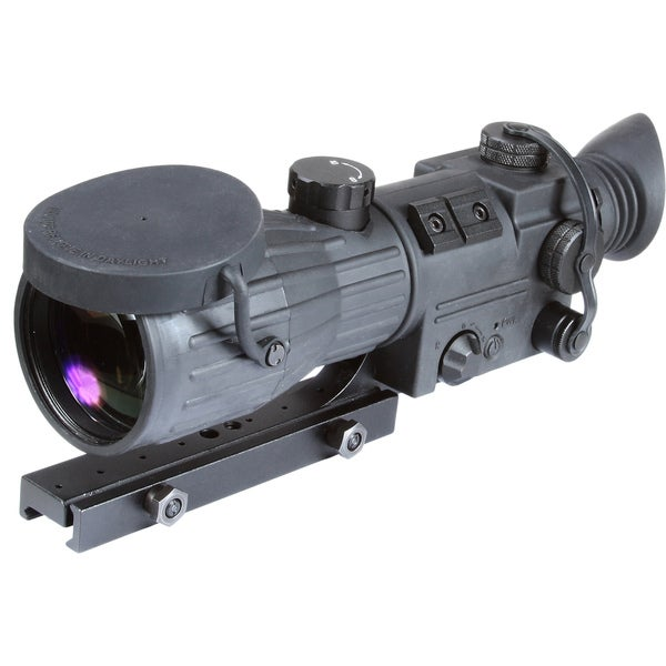 Armasight Black ORION 5X-magnification Gen 1+ Night Vision Riflescope