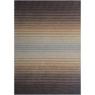 Loomed Hydrae Sunset Wool Rug (5' x 8')