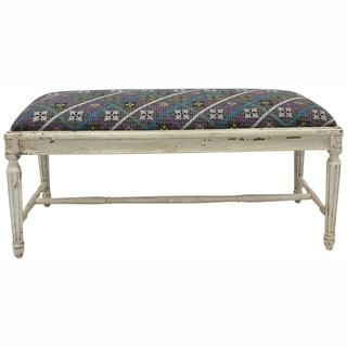 nuLOOM Casual Living Vintage Multi Bench