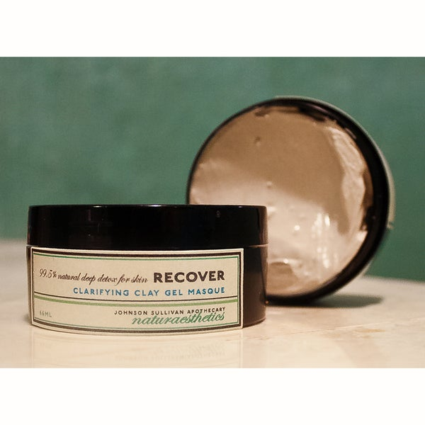 Johnson Sullivan Naturaesthetics 2.6-ounce Deep Detox Clarifying Clay Masque