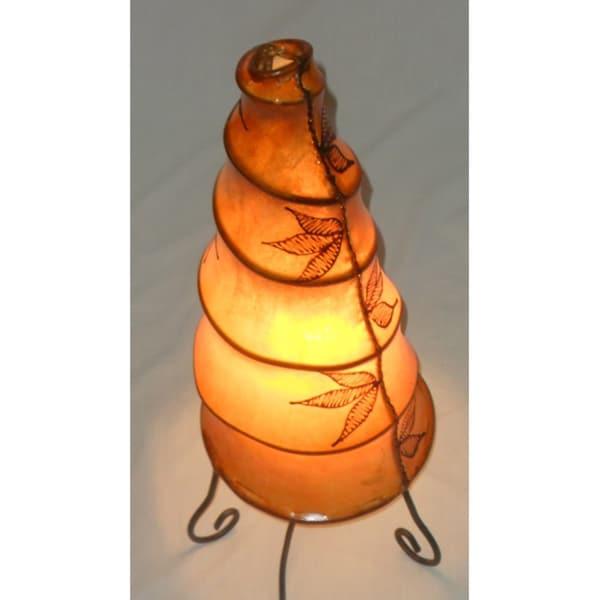 Orange Escargo Table Lamp (Morocco)