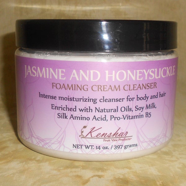 Kenshar Fruit Vine Products Jasmine and Honeysuckle Cream Cleanser