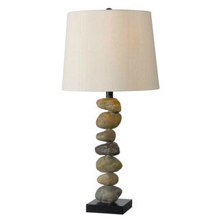 Cernan 29-inch High With Stone Finish Table Lamp