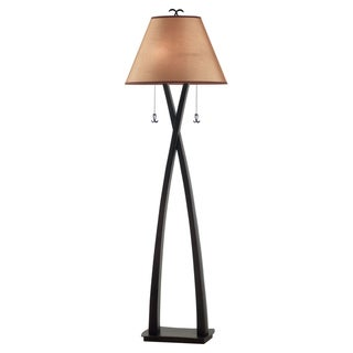 Iommi 2-light Oil Rubbed Bronze Floor Lamp