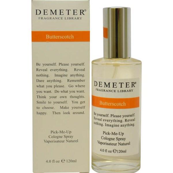 Demeter ButterScotch Women's 4-ounce Cologne Spray