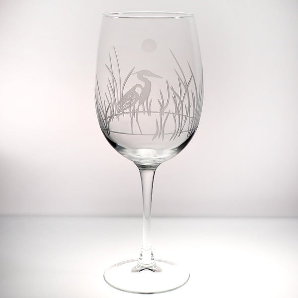 Rolf Glass Heron All Purpose Large Wine 19 ounces (Set of 4)