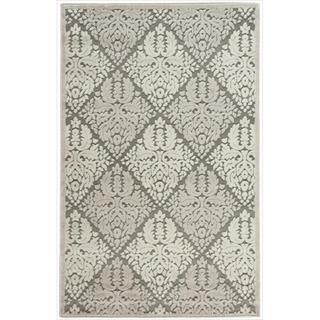 Nourison Graphic Illusions Ivory Diamond Pattern Rug (2'3 x 3'9)